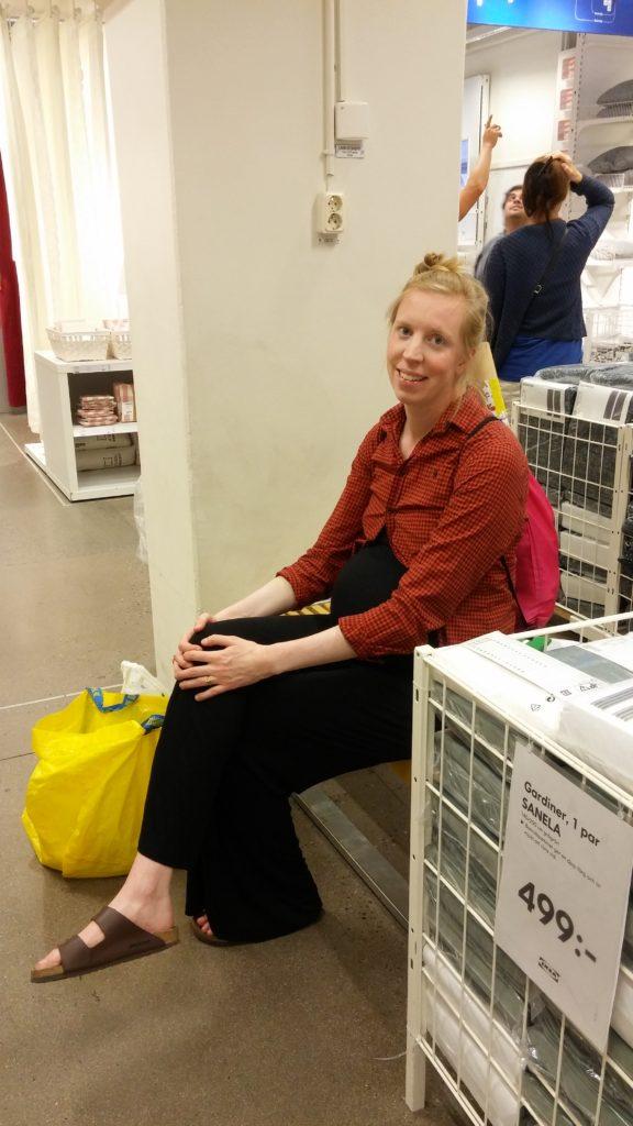 Paus i Ikea-handlandet