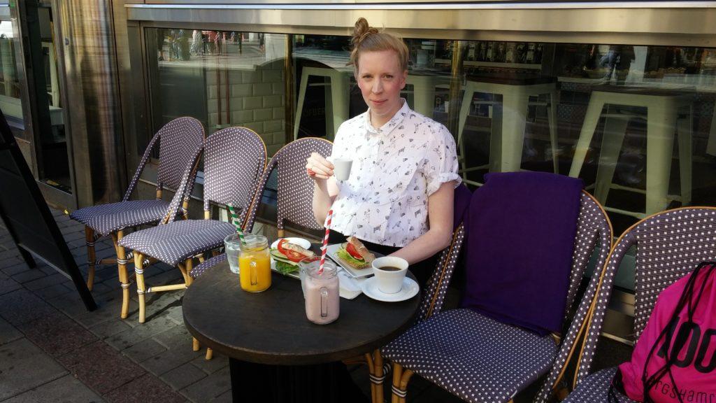 Frukost på Löfbergs Stockholm
