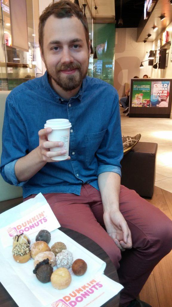 Munckin Madness på Dunkin' Donuts