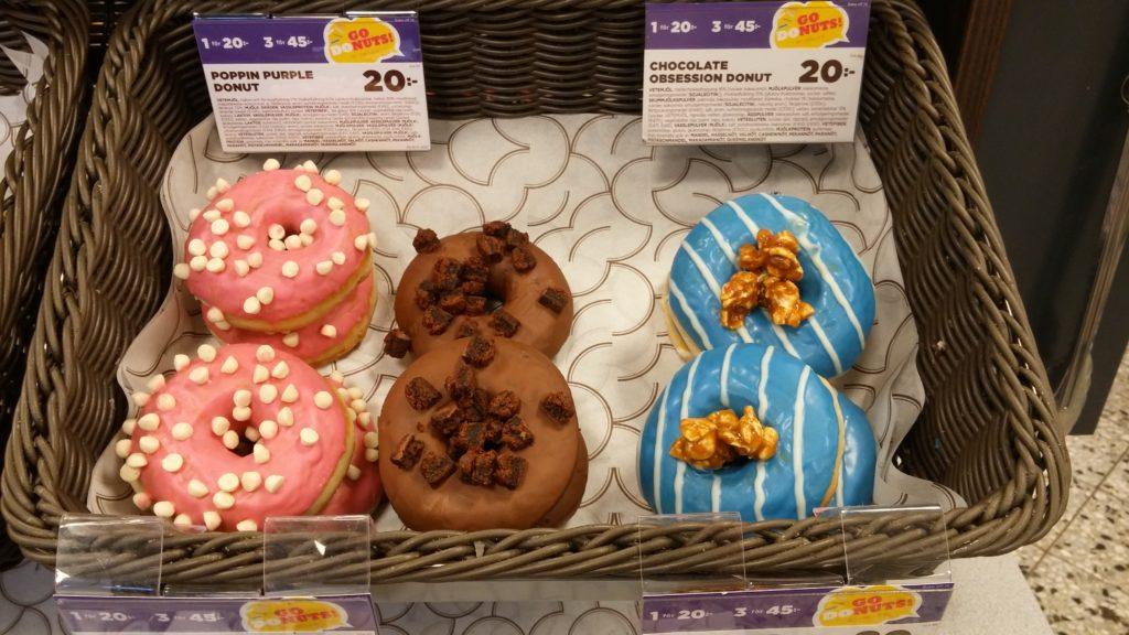 Nya donuts på Circle K